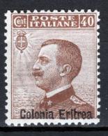 Eritrea 1916 Sass.38 */MH VF/F - Eritrea
