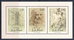 Liechtenstein (2019) Leonardo Da Vinci (500th Anniversary Of Death) - Sheetlet (MNH) - Altri