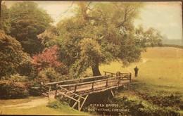 Postcard. Birken Bridge. Rostherne. Cheshire. Bowdon Series. Posted 1907 (0085) - Angleterre