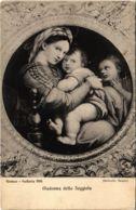 CPA Madonna Della Seggiola FIRENEZE Galleria Pitti ITALY (802074) - Firenze (Florence)