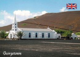1 AK Ascension Island * St. Mary*s Kirche In Der Hauptstadt Georgetown - Britisches Überseegebiet Im Atlantik * - Ascension (Insel)