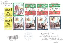 AFFRANCATURA MISTA - 2011-...: Storia Postale