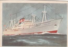 TILDA DAN, Lauritzen Esbjerg Denmark 1955,Captain Grant Virginia Cigarettes - Cigarette Cards