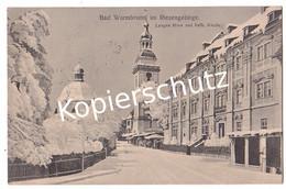 Bad Warmbrunn 1916 Feldpost (z5692) - Schlesien
