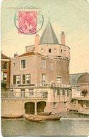 SCHREIERSTOREN AMSTERDAM. NEDERLAND HOLLAND POSTALE PORTAL CPA CIRCULE 1921 -LILHU - Amsterdam