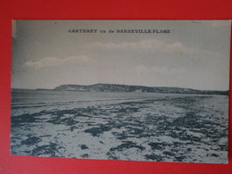 MANCHE    Carteret Vu Barneville Plage - Carteret