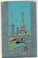 Calandrier 1965 Pub Les Chaussures Poutou Tour Eiffel - Calendriers