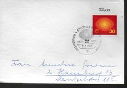 ALLEMAGNE  FDC 1969  Eglise Evangelique - Cristianesimo