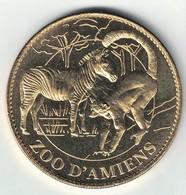 Medaille Arthus Bertrand 80.Amiens Zoo - Zèbre Et Le Maki 2008. Neuve - 2008