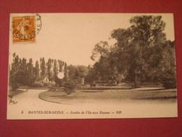 Mantes Sur Seine - Jardin De L'Ile Aux Dames - Mantes La Jolie