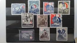 TURQUIE - Timbres De Bienfaisance - Lot 22 Timbres (voir Détail Et Scan) - 1921-... Republik