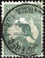 Australia 1916 - Mi 47xII - YT 10a (A) ( Kangaroo And Map ) - 1913-48 Kangaroos