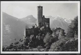 CASTELLO DI CHATELAIR - LA SALLE - VAL D'AOSTA - FOTOCELERE- FORMATO PICCOLO - VIAGGIATA DA LA SALLE 1936 - Castelli
