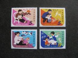 TAIWAN ( FORMOSE) : TB Série N° 2447 Au N° 2450, Neufs XX. - 1945-... République De Chine