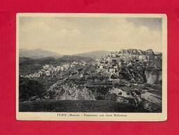 CARTOLINA VG ITALIA - TURSI (Matera) - Panorama Con Rione Rabatana - 10 X 15 - ANN. 1960 SPEDIZIONE DEI MILLE - Matera