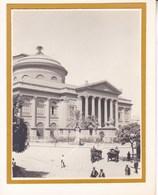 PALERMO PALERME TEATRO MASSINO 1926 Photo Amateur Format Environ 7,5 Cm X 5,5 Cm - Luoghi