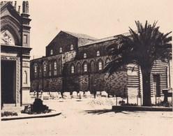 PALERMO PALERME église Des Vêpres Siciliennes  1926 Photo Amateur Format Environ 7,5 Cm X 5,5 Cm SICILIA - Luoghi
