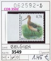 Buzin - Belgien - Belgique - Belgium - Belgie - Michel 3549 - Vögel Buzin Oiseaux Birds -  ** Mnh Neuf Postfris - 1985-.. Vogels (Buzin)