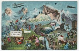 Picture Postcard Switzerland - Mountain Eiger - Mönch - Jungfrau - BE Berne