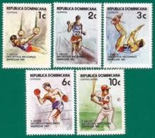 Rep. Dominicana. Dominican Republic. 1981. Scott # 842 / 45, C331. Deportes. Juegos Nacionales - Dominicaine (République)