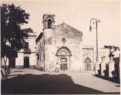 TAORMINA TAORMINE SAN AGOSTINO 1926 Photo Amateur Format Environ 7,5 Cm X 5,5 Cm SICILIA - Luoghi