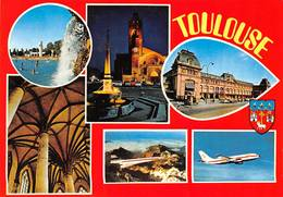 Toulouse Blagnac Avion Airbus Concorde Gare Matabiau - Toulouse