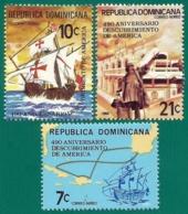 Rep. Dominicana. Dominican Republic. 1982. Scott # C377 / 79. Descubrimiento De America - República Dominicana