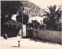 TAORMINA TAORMINE BADIA VECCHIA 1926 Photo Amateur Format Environ 7,5 Cm X 5,5 Cm SICILIA - Luoghi