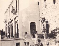 TAORMINA TAORMINE HOTEL MIRAMARE 1926 Photo Amateur Format Environ 7,5 Cm X 5,5 Cm SICILIA - Luoghi