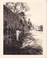 TAORMINA TAORMINE Tombes Byzantines 1926 Photo Amateur Format Environ 7,5 Cm X 5,5 Cm SICILIA - Luoghi