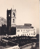 TAORMINA TAORMINE SAN DOMENIGO 1926 Photo Amateur Format Environ 7,5 Cm X 5,5 Cm SICILIA - Luoghi