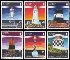 Jersey 1999 - Mi-Nr. 910-915 ** - MNH - Leuchttürme / Lighthouses - Jersey
