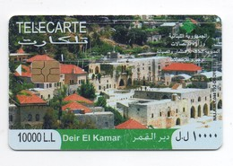 Deir El Kamar 2009 Used Phonecard  Lebanon , Liban  Libanon - Lebanon