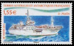 """TAAF YT 691  """" Patrouilleur La Malin """" 2014 Neuf** - Französische Süd- Und Antarktisgebiete (TAAF)"""