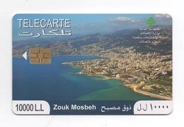 Zouk Mosbeh 2010 Used Phonecard  Lebanon , Liban  Libanon - Liban
