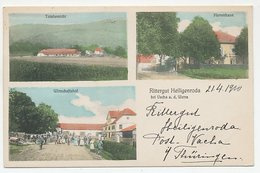 Picture Postcard Rittergut Heiligenroda Bei Vacha A.d. Werra Germany 1910 - Vacha
