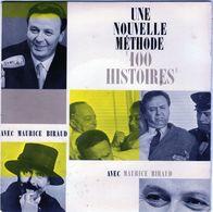 """Disque 45 Tours De Maurice Biraud - Une Nouvelle Méthode """" 100 Histoires """" - Comiques, Cabaret"""