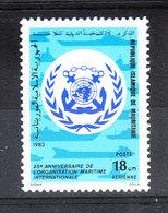 Mauritania   - 1983. Organizzazione Marittima. International Maritime Organization. MNH, Fresh - Trasporti