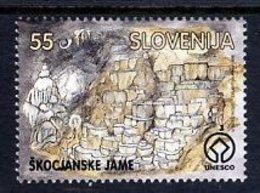 SLOVENIA 1996 Skocjan Caves  MNH / **.  Michel 166 - Slovenia
