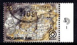 SLOVENIA 1996 Skocjan Caves  Used.  Michel 166 - Slovenia