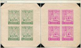 13274 NICARAGUA Collection Vendue Par Page BF 29/34 (*) Non Dentelés :  75 Ans Du Service Postal   1938    B/TB - Nicaragua