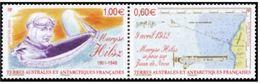 "TAAF YT 639 & 640 Se Tenant "" Maryse Hiltsz "" 2012 Neuf** - Ungebraucht"