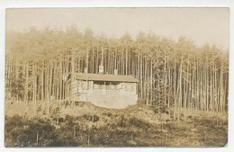 Photo Postcard Jagdhaus Helenenberg Gutzberg - Post Rosstal Bayern / Germany 1921 - Furth