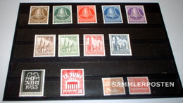 Berlin (West) Unmounted Mint / Never Hinged 1953 Complete Volume In Clean Conservation - Unused Stamps