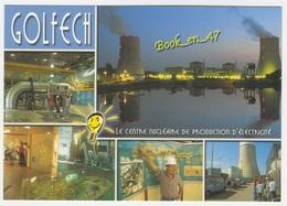 {81685} 82 Tarn Et Garonne Golfech , Le Centre Nucléaire De Production D' Energie , Multivues ; Divers Aspects - Frankreich