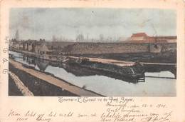 Tournai - L'Escaut Vu Du Pont Soyer - Anciennes Fortifications -1901 - Tournai