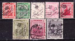 Egitto 1922- Serie Non Completa Usata - Egitto