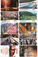 10 Cartes De Stationnement (Parking El Fener) Andorra La Vella. Vues De La Principauté - Andorre