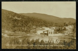 Ref 1303 - Early Postcard - Great Falls Of Saco River & Cumberland Power Station Maine USA - Other