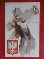 RUSSIE ILLUSTRATEUR SOLOMKO BLASON POLOGNE - Solomko, S.